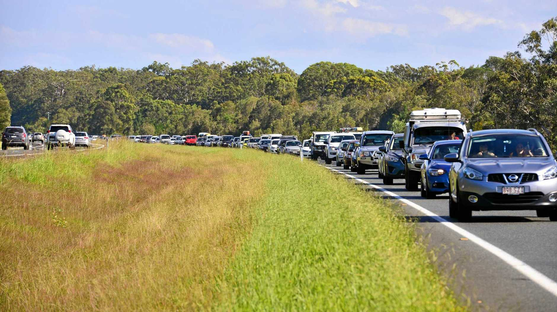 Traffic congestion on the Bruce Highway can only expect to grow along with a growing population and as more people start flowing out of Caloundra South in the search for work.