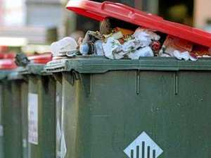 Household items dumped 10 minutes from free landfill