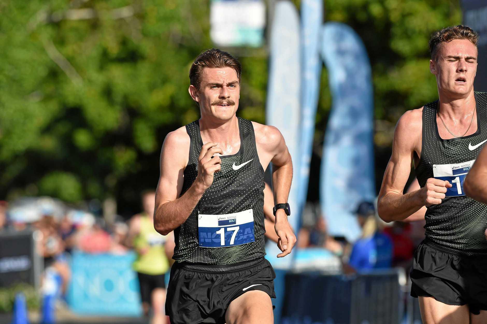 TOP SHAPE: Melbourne runner Jack Rayner is relishing good form for a Sunshine Coast Half Marathon title defence.