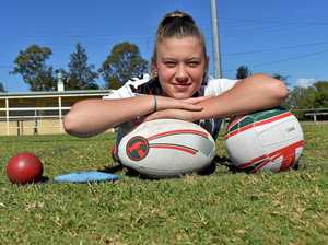 How this Gympie athlete is working towards her Olympic dream