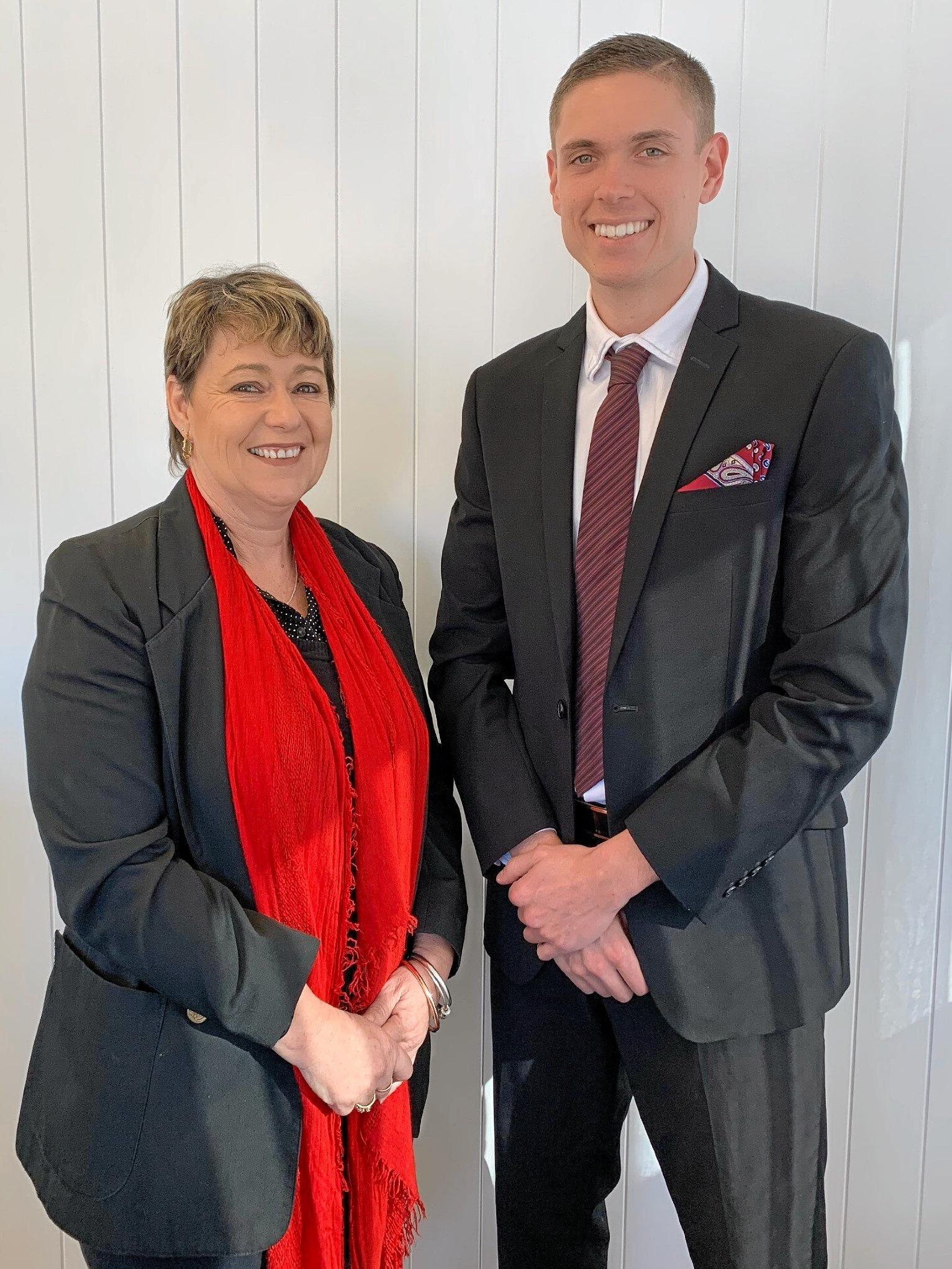 NEW ERA: Janelle Baisden-Emmett and Trent Faunt are changing their business name to Faunt and Emmett Real Estate.