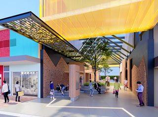 NEW WALKWAY: An artist impression on what the new Margaret St laneway could look like.