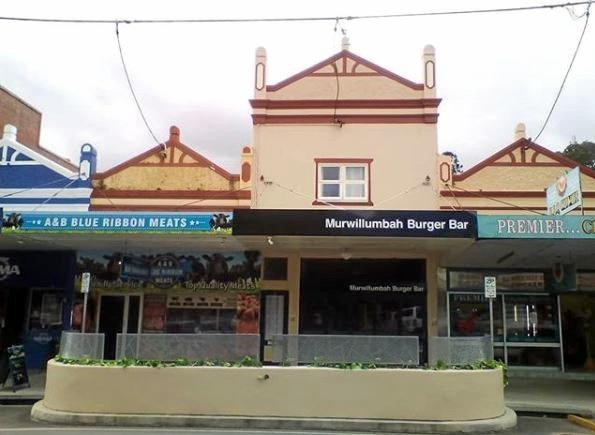 The Murwillumbah Burger Bar has closed.