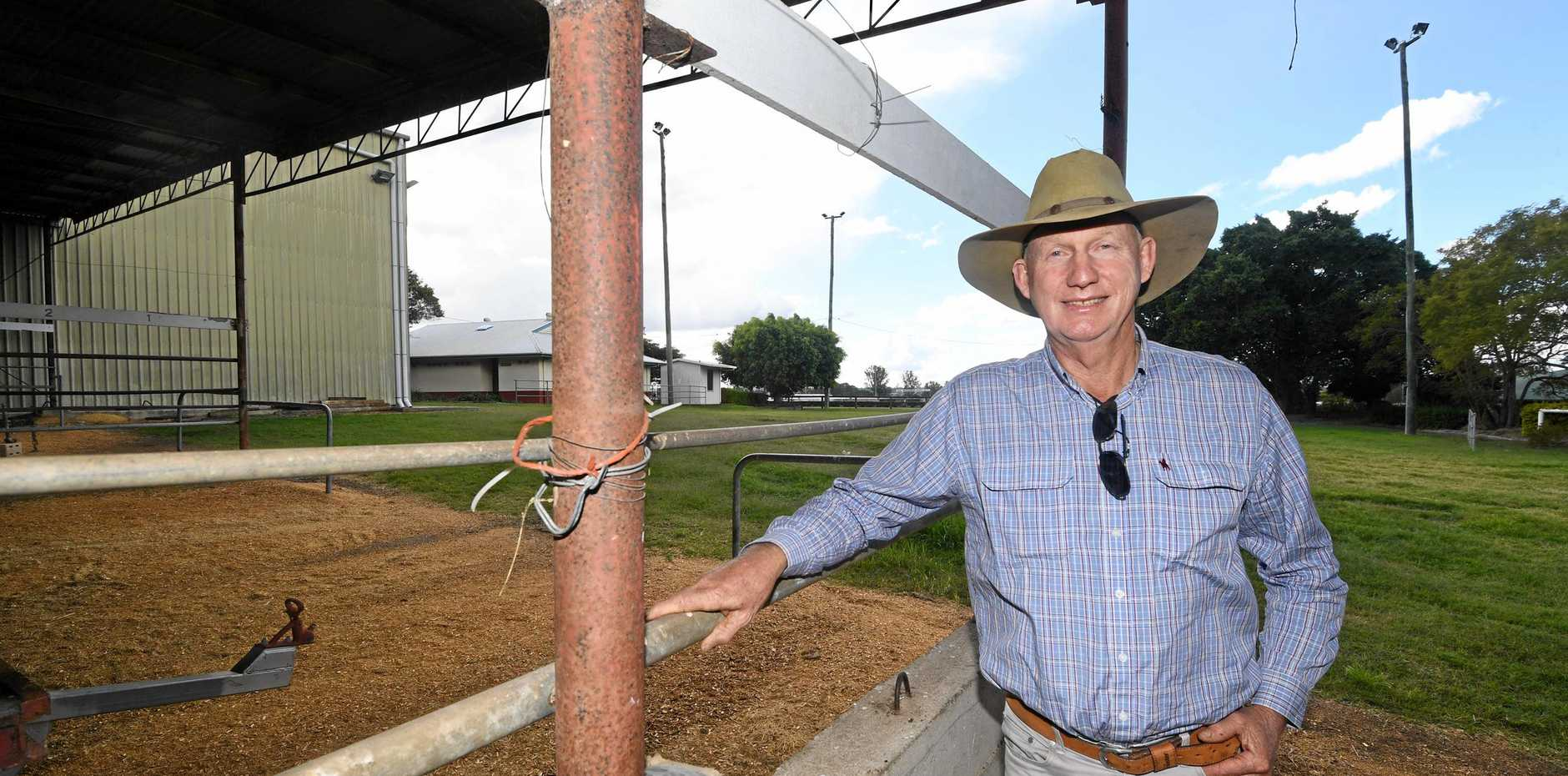 HAPPY DAYS: Mick Seeney considers himself lucky to have enjoyed a better winter than normal on his Kandanga cattle farm.