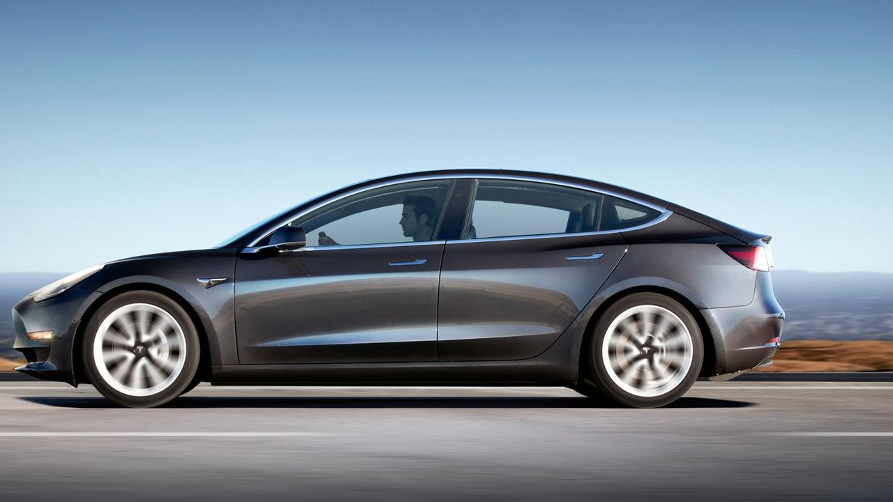 The Model 3 is easy to drive and copes well with the extreme forces.