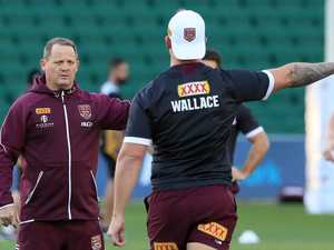 'Give me more minutes': Wallace hits out at Maroons coach