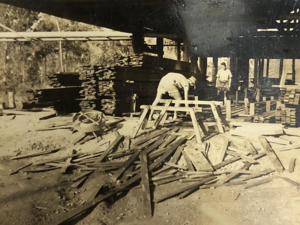 Allies Creek mill in its working days. Photo: John Crooke