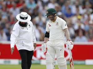 'Horrific umpiring': Farcical calls ruin day 1