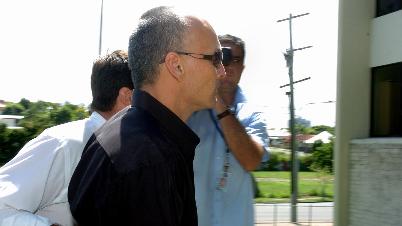 Errol Graham Hayes is taken into custody in 2006.