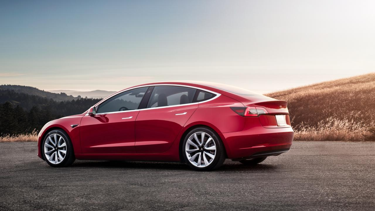 The Model 3 starts at $66,000 before on-road costs in Australia.