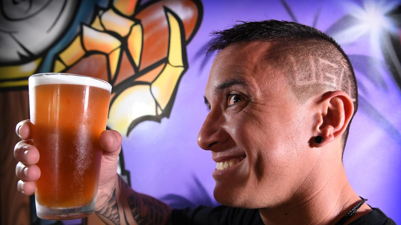 CHALLENGE ACCEPTED: Kelvin Campbell from Taps at Mooloolaba has signed on for the U.G.L.Y bartender competition. Photo: Warren Lynam.