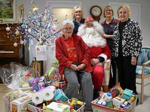 Christmas comes early for Salvation Army