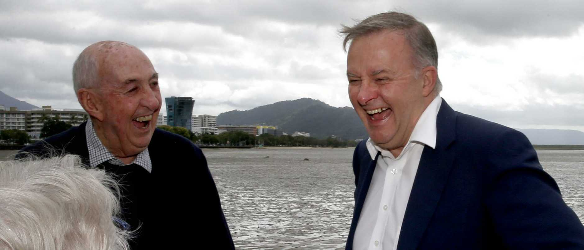 Albo made a dig at the Morrison Government for its long-distance promises to build major infrastructure.