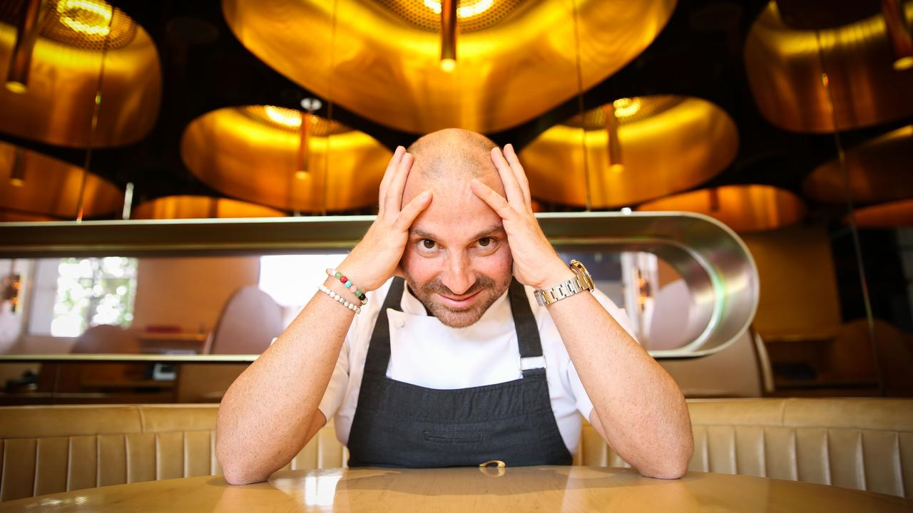 George Calombaris has become public enemy number one in recent weeks. Picture: Nicole Cleary