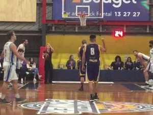 Troy Robinson's final foul shots