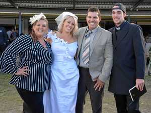 Why Nanango Races was the perfect spot for wedding vows