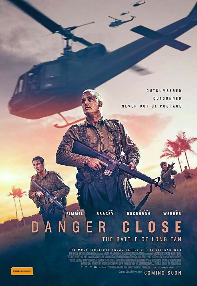 CHECK IT OUT: The poster for 'Danger Close: The Battle of Long Tan' which opens at cinemas on August 8.