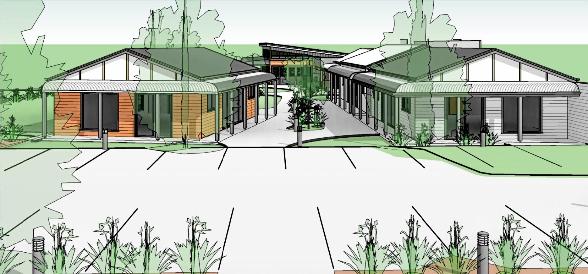 NOT A PUB: Concept designs for a bar and restaurant in Highfields, which is being submitted to the council as a 'hotel'.