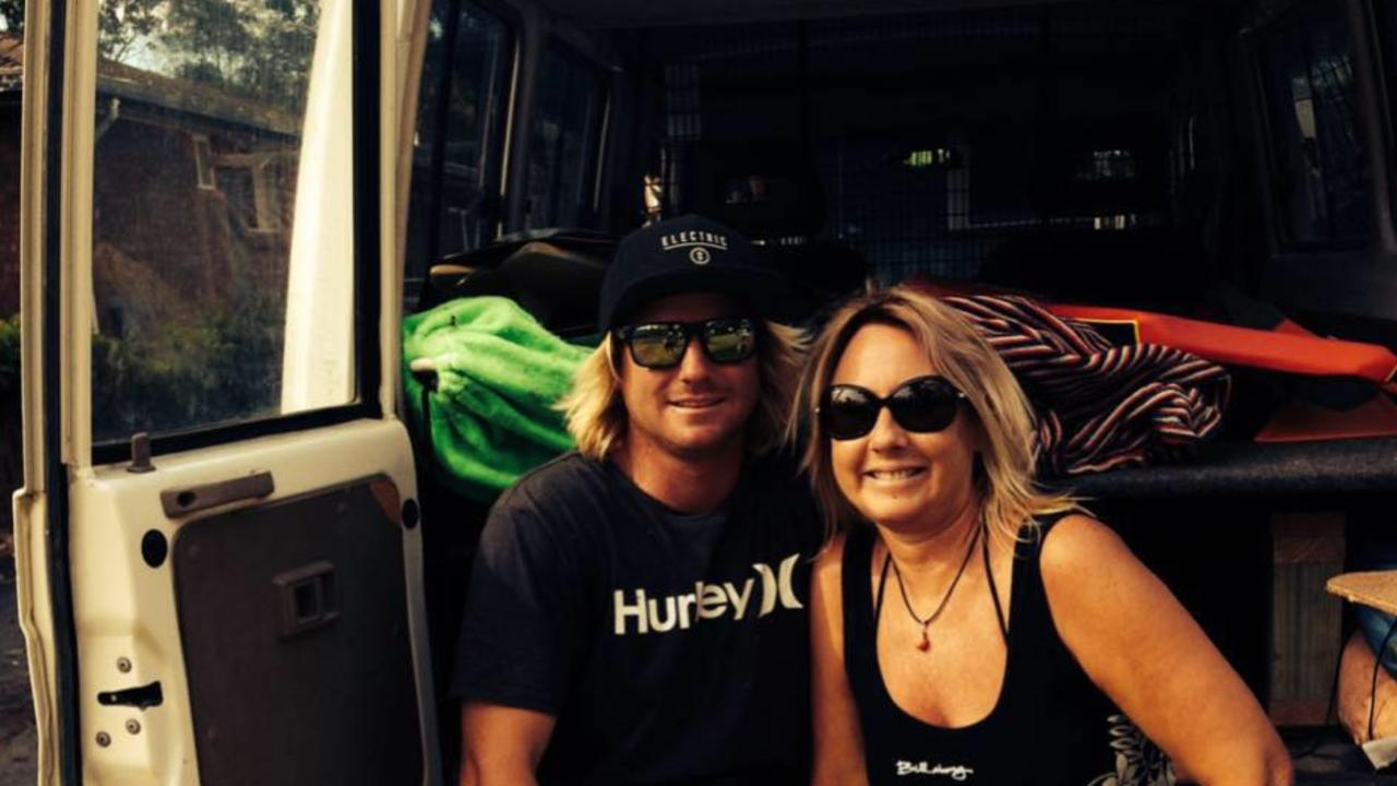 Alleged Cairns punch death victim Brett Thomson with his mum Nikki Thomson. PICTURE: SUPPLIED