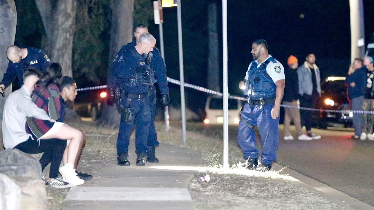 Three teenagers were injured at a party in Sydney's west. Picture: Steve Tyson