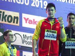 Mack Horton breaks silence on Sun Yang protests