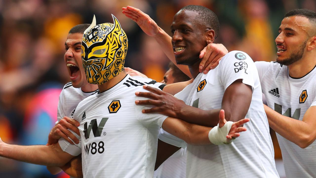 Raul Jimenez is a cult hero at Wolves. PictureL Getty Images