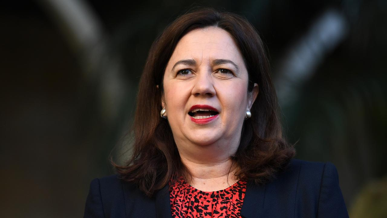Queensland Premier Annastacia Palaszczuk will announce the free apprenticeships policy today. Picture: AAP/Dan Peled