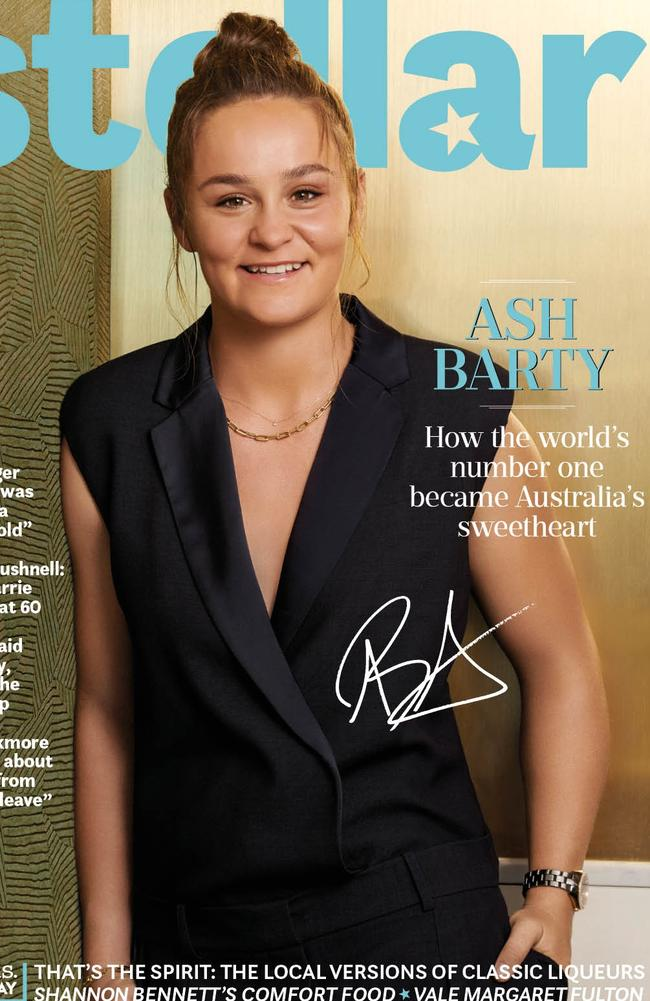 Ash Barty on the cover of this week's Stella magazine.