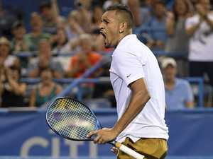 Crowd turns on Kyrgios after 'meltdown'