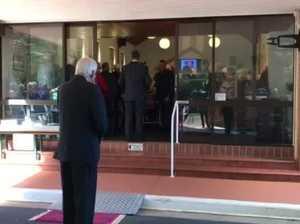 Harold Hutley Funeral