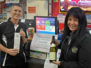 Region dubbed 'Luckier Valley' after fourth major Lotto win
