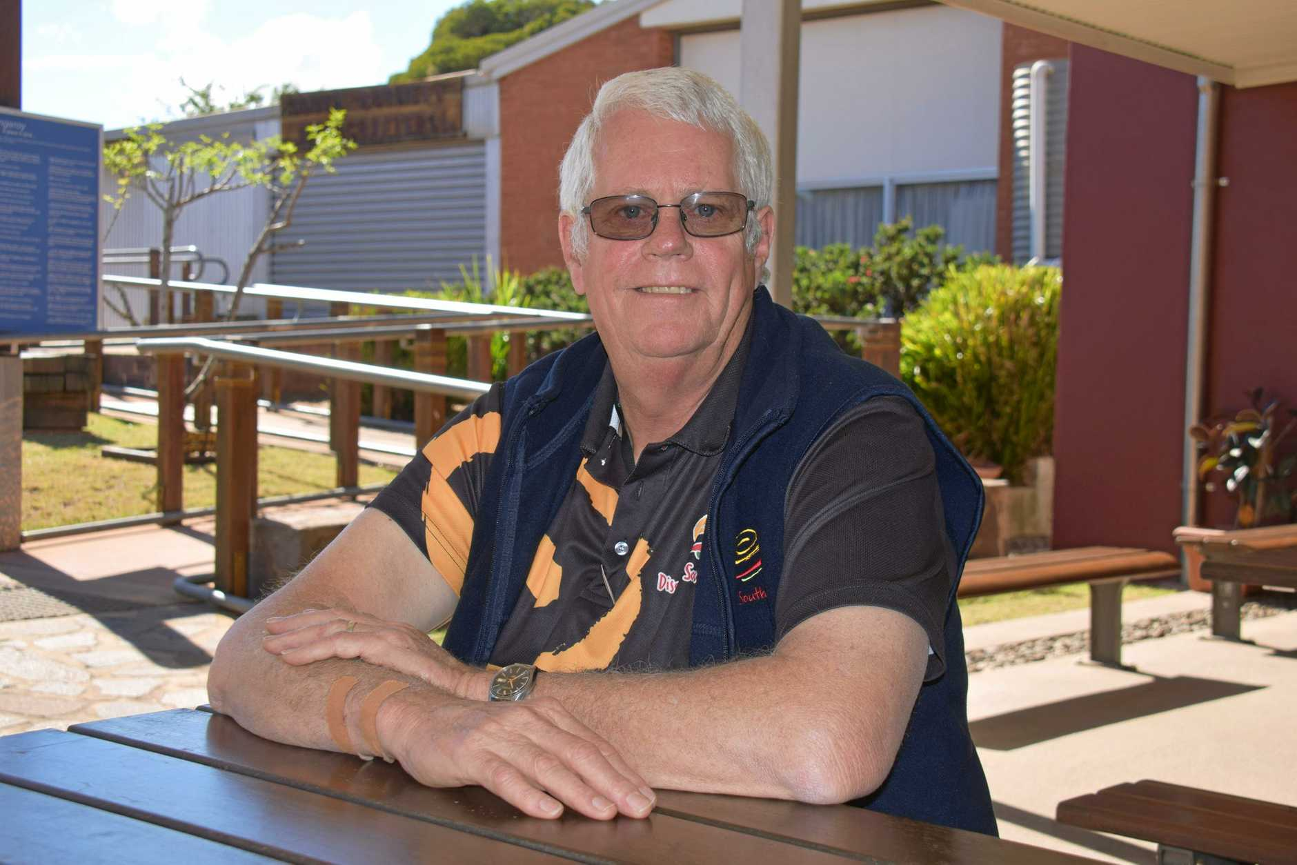 GOOD ADVICE: Kingaroy Information Centre volunteer, Ralph Clark shares his thoughts and some of his life experiences.