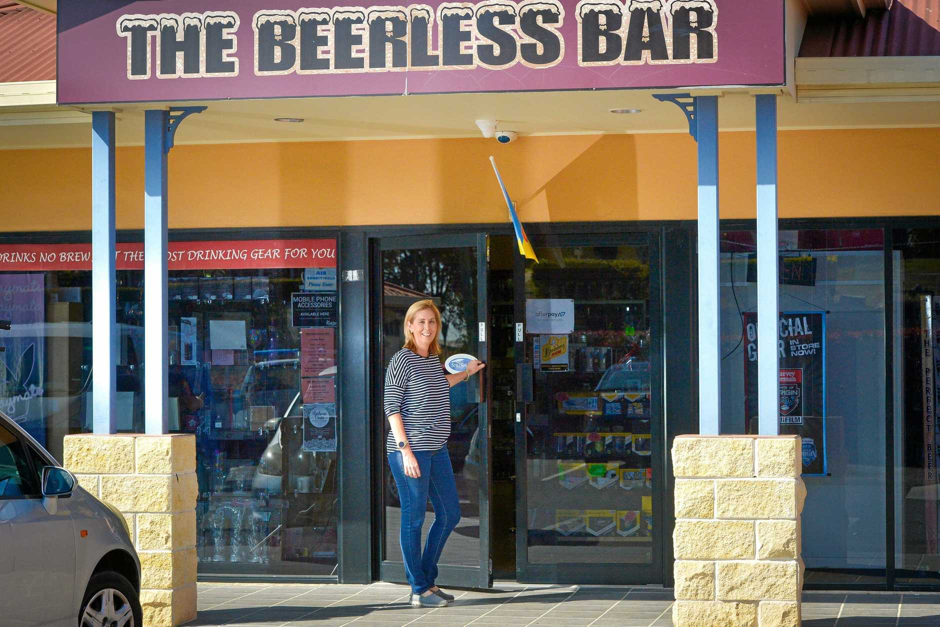 Tracey Clark from the Beerless Bar has taken new security precautions.
