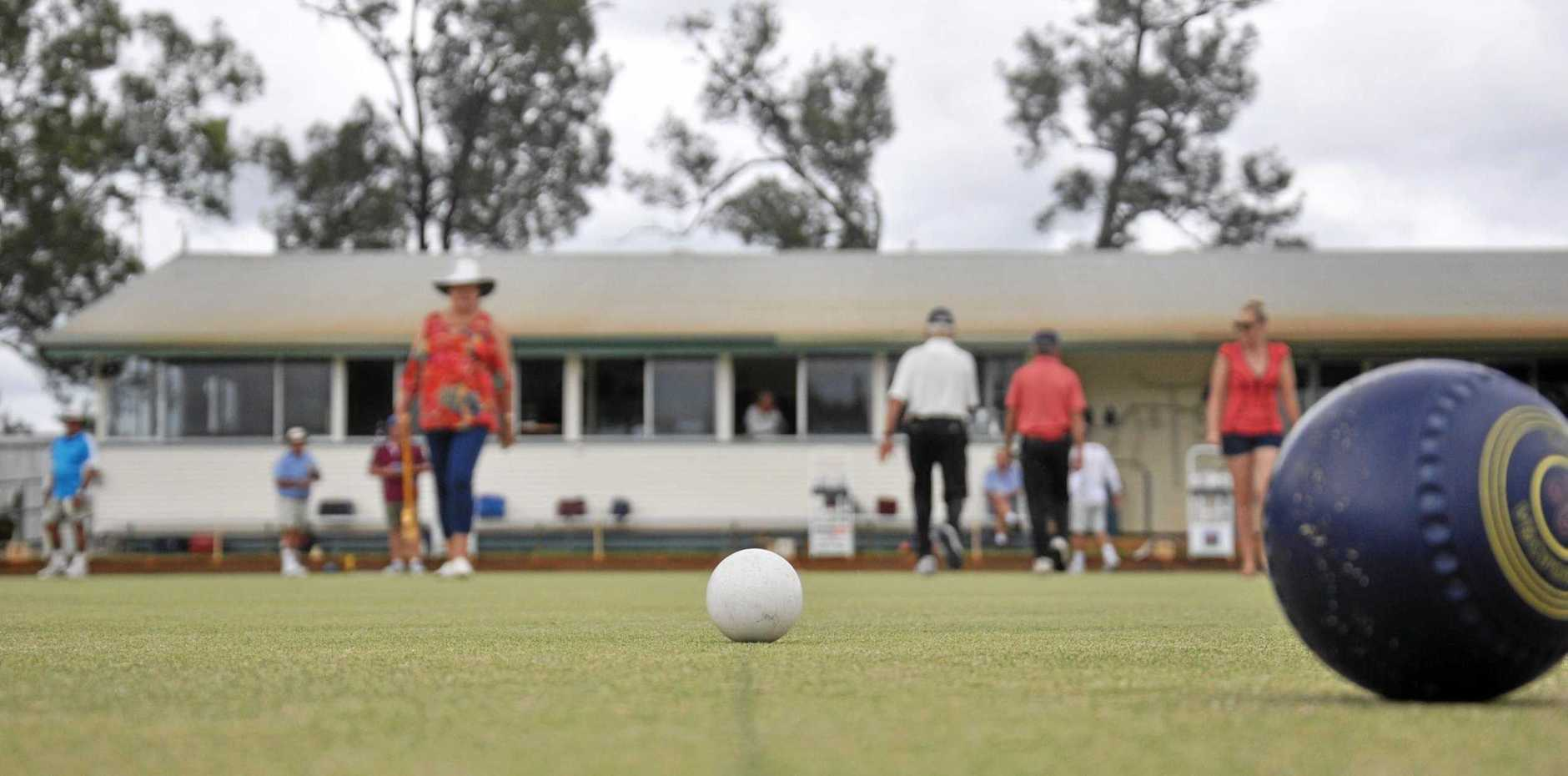 BOWLED OVER: Monto Bowls Club.