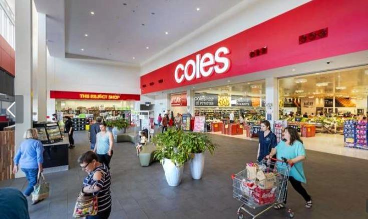 Coles Kensington includes a Reject Shop.
