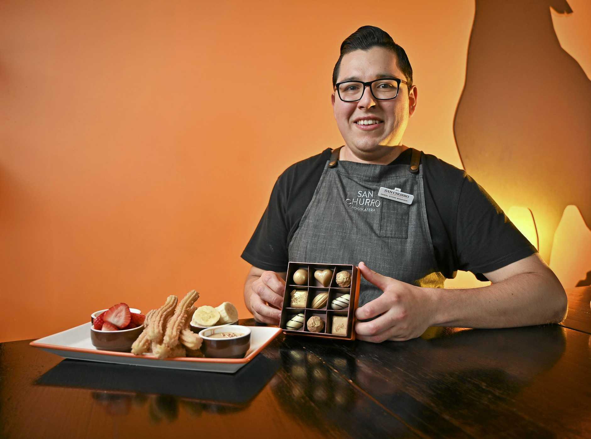 TASTE MAKER: San Churro Springfield store manager Daniel Aparicio.