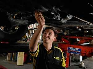 Future looking up if young mechanic anything to go by
