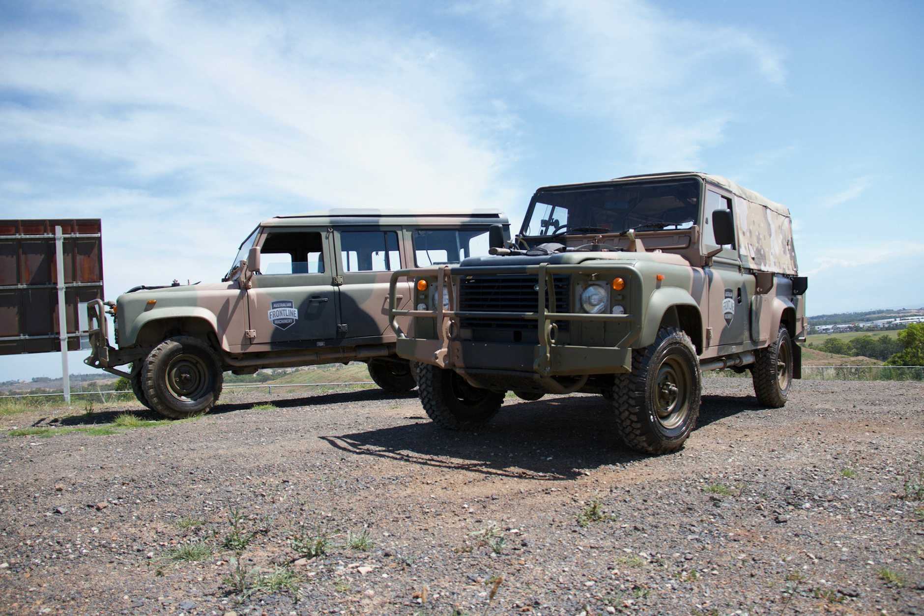 Buy An Army Truck For Just 1 At Auction Queensland Times