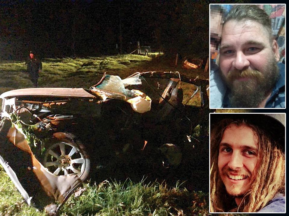 Matthew Robert Daniel Minor, 40, (top right) was jailed for causing the crash which killed Lee Gunton, 22, (bottom right).