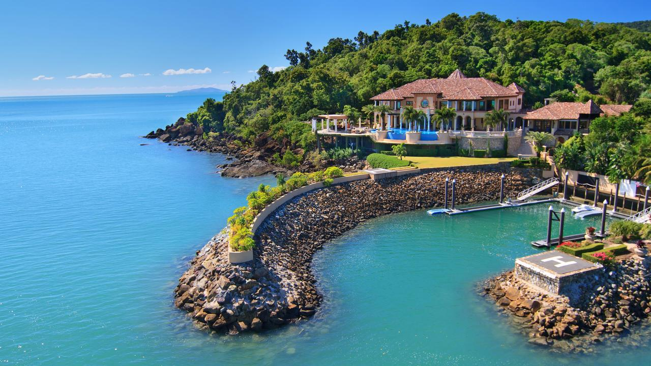 Mandalay House in Airlie Beach can be rented for $20,000 a night.