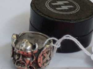 Outrage over auction of Nazi memorabilia including SS ring