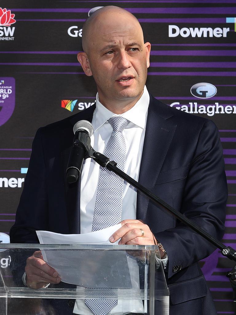 NRL CEO Todd Greenberg.
