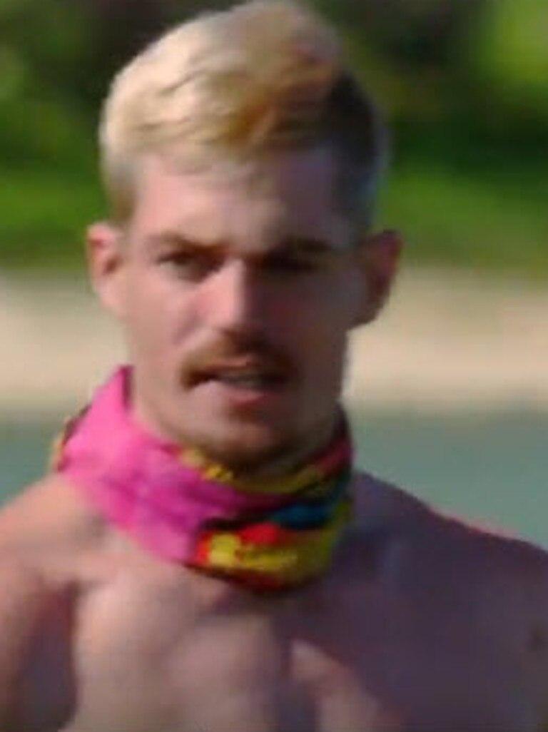 Matt, shown here in a rare non-screaming moment.
