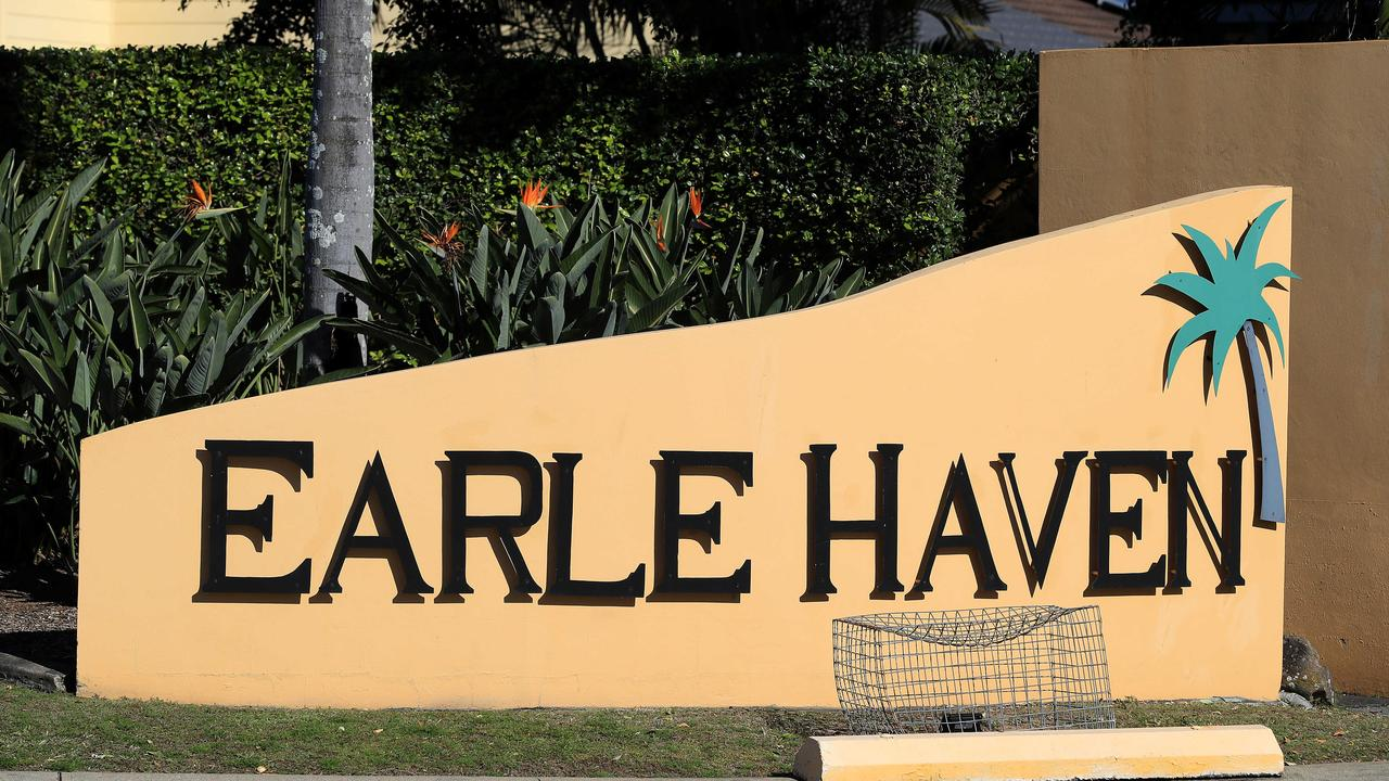 Earle Haven's nursing home wing closed abruptly on July 11. Picture: Adam Head.