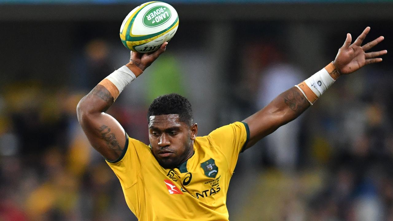Isi Naisarani has had an immediate impact on the Wallabies. Picture: AAP Image/Darren England