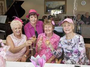 Bridal high tea raises funds for breast cancer battle