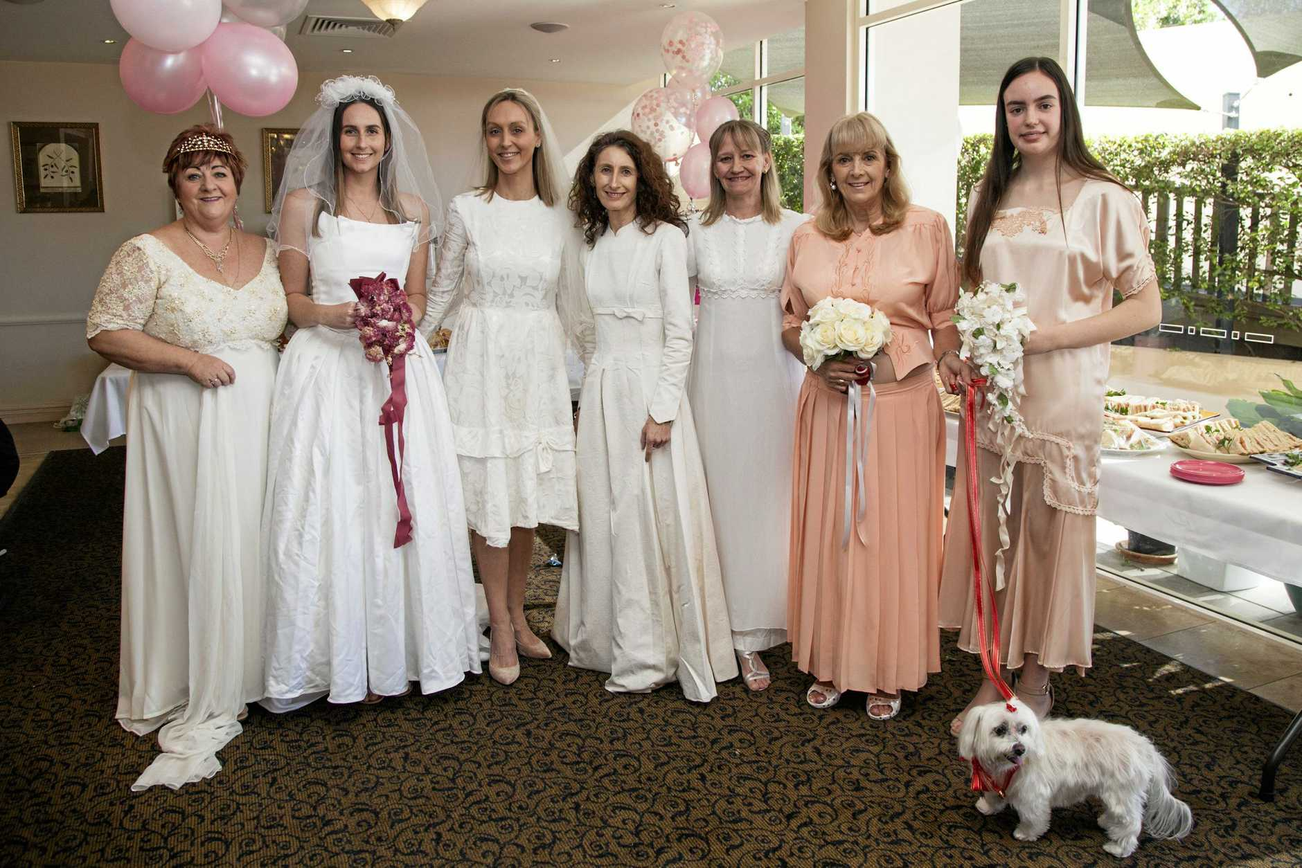The fashions on display during the Bridal High Tea