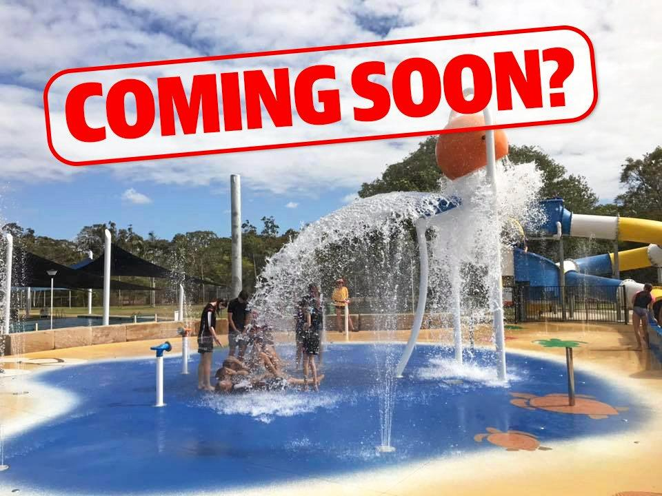 IN THE PIPELINE: Cherbourg residents could soon be keeping cool at a new water park.