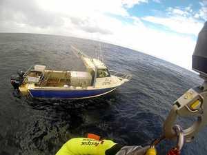 Chopper crew recall eerie feeling finding ghost ship