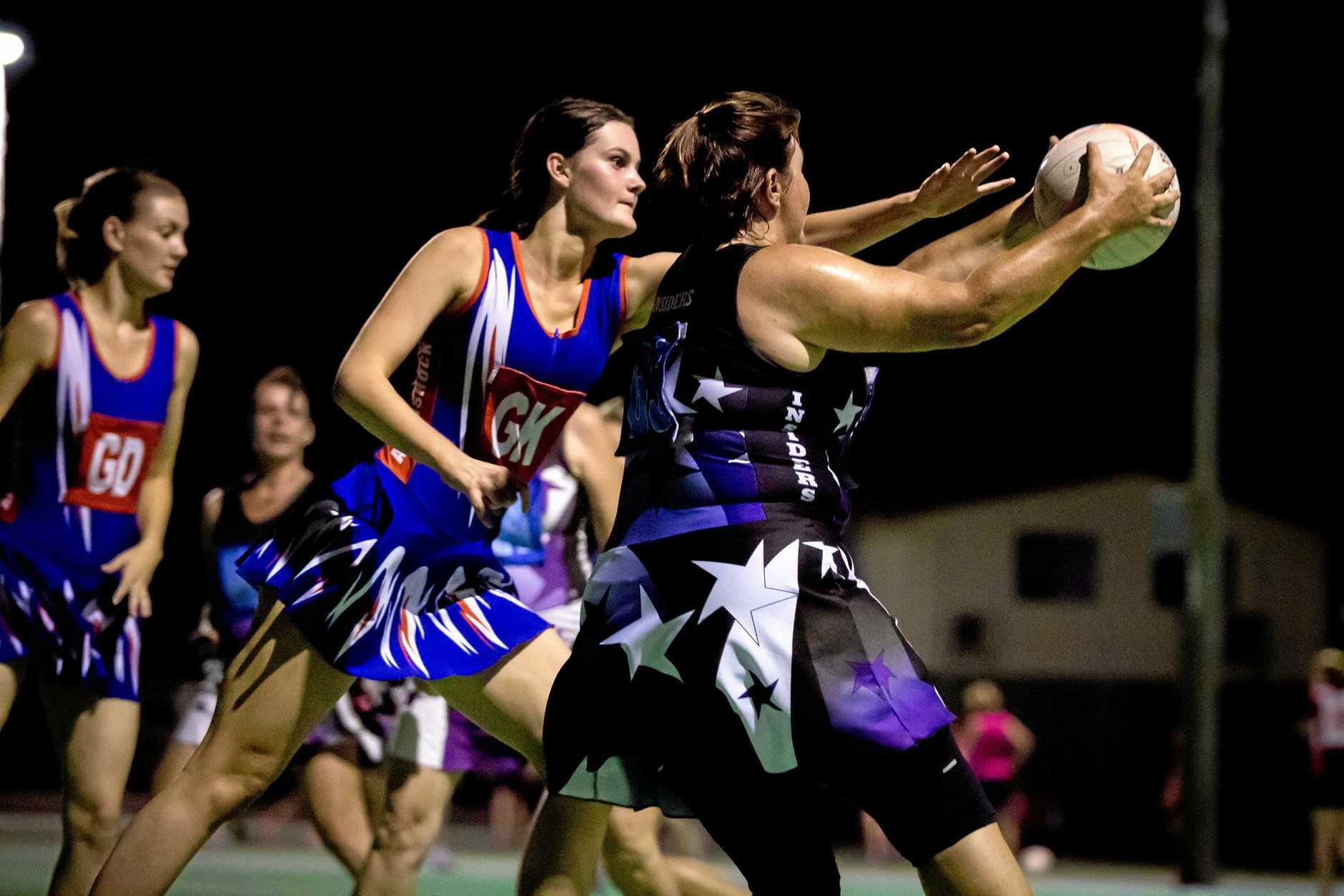 Netball - Taylah Blackburn Aftershock vs Michelle Winston Insiders A Grade